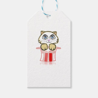 cute magic cate pack of gift tags
