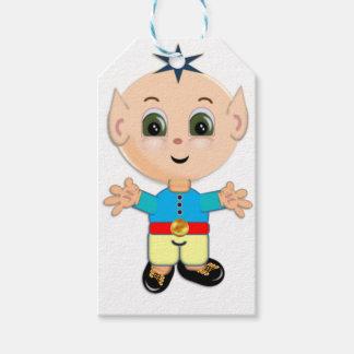 Cute magic elf gift tags