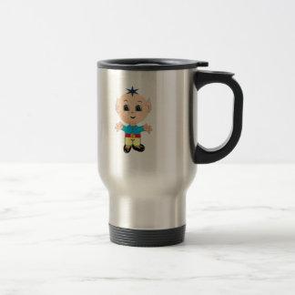 Cute magic elf travel mug