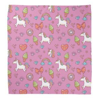 Cute Magic Unicorn Bandana