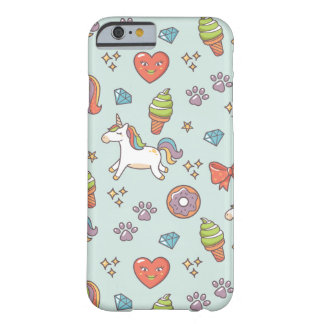 Cute Magic Unicorn Barely There iPhone 6 Case