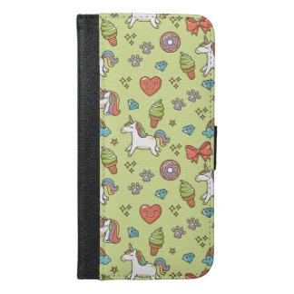 Cute Magic Unicorn iPhone 6/6s Plus Wallet Case