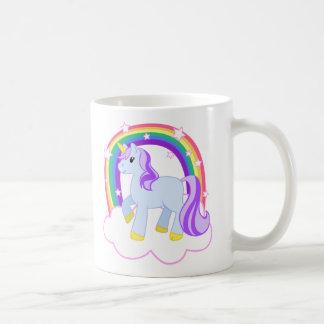 Cute Magical Unicorn with rainbow (Customizable!) Coffee Mug