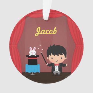Cute Magician Magic Bunny Trick Kids Room Decor Ornament
