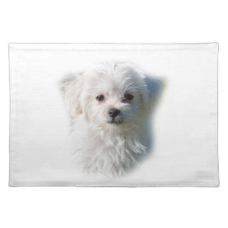 Cute Maltese Dog Placemat