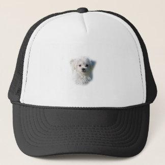 Cute Maltese Dog Trucker Hat