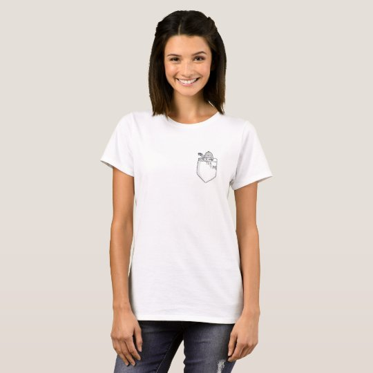 Cute Mana-tea-time Pocket T-shirt