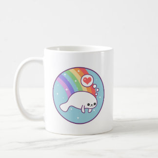 Cute Manatee Coffee Mug