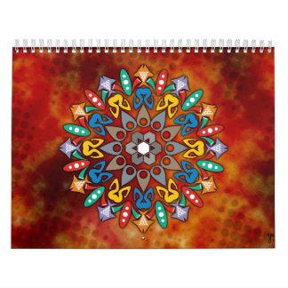 Cute mandala coloring book Calendar