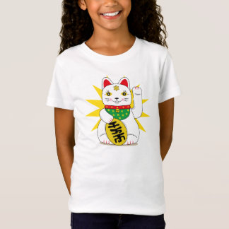 Cute Maneki Neko Japanese Good Fortune Cat T-Shirt
