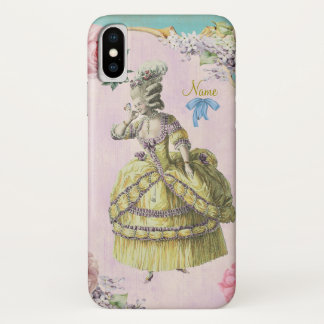 Cute Marie Antoinette (More Options) - iPhone X Case