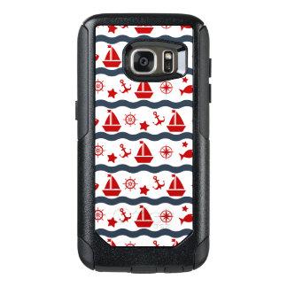 Cute Maritime Pattern OtterBox Samsung Galaxy S7 Case