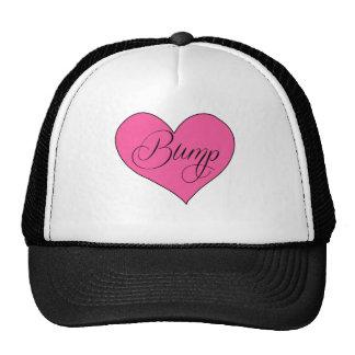 Cute Maternity Bump Heart Shirt Trucker Hat