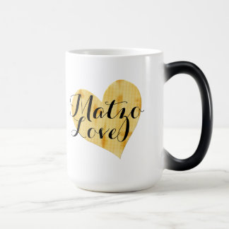 Cute Matzah Appreciation Saying Magic Mug