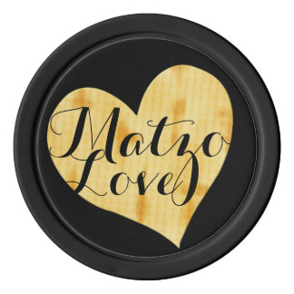 Cute Matzah Appreciation Saying Poker Chips