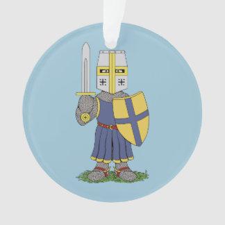 Cute Medieval Knight Ornament