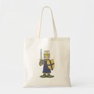 Cute Medieval Knight Tote Bag