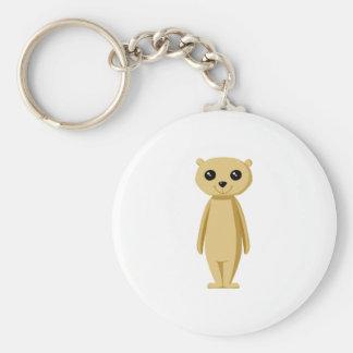 Cute Meerkat. Keychain