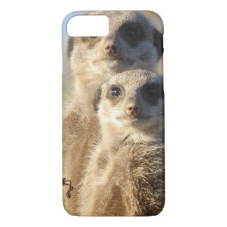 cute meerkats 1214 iPhone 8/7 case