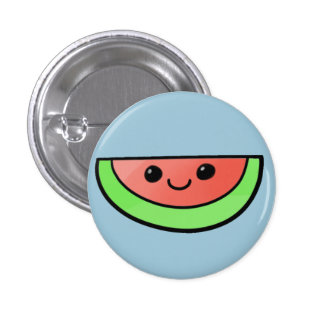 Cute Melon Button