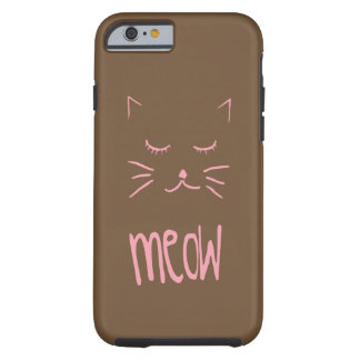 Cute MEOW Cat phone case for all brands