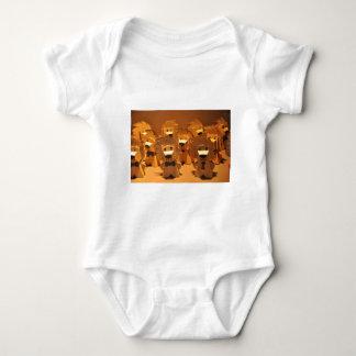 Cute merlion baby bodysuit