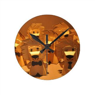 Cute merlion clocks