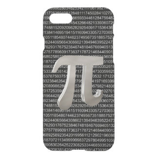 Cute metal pi character iPhone 8/7 case