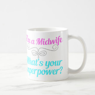 Cute Midwife Superhero Coffee Mug