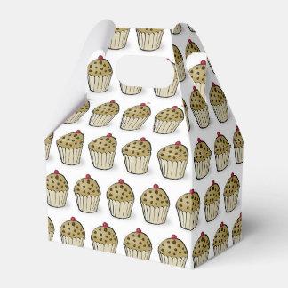 Cute Mini Muffins Pattern Favor Box