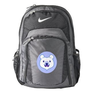 Cute Minimalist Cartoon Polar Bear