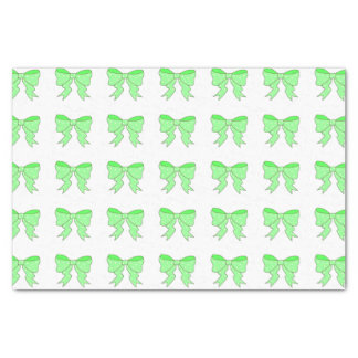 Cute Mint Bow Tissue Paper