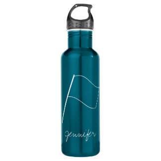 Cute Modern Colorguard Flag 710 Ml Water Bottle