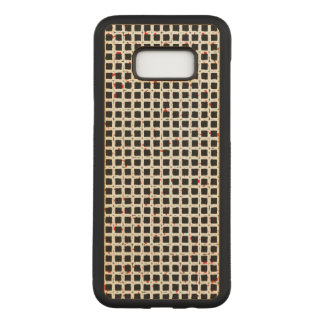 Cute Modern Trendy Abstract Pattern Carved Samsung Galaxy S8+ Case