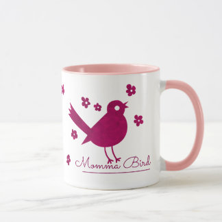 Cute Momma Bird Mug