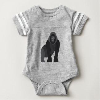 Cute monkey baby bodysuit