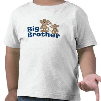 Cute Monkey Big Brother Shirts
