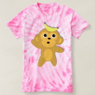 Cute Monkey Character T-shirt