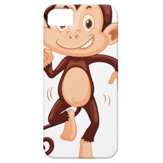 Cute monkey dancing alone iPhone 5 cover