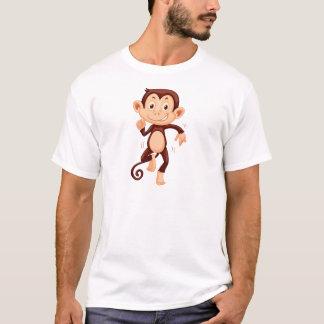 Cute monkey dancing alone T-Shirt