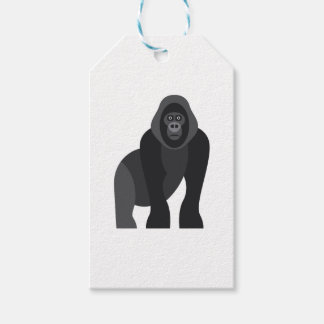 Cute monkey gift tags