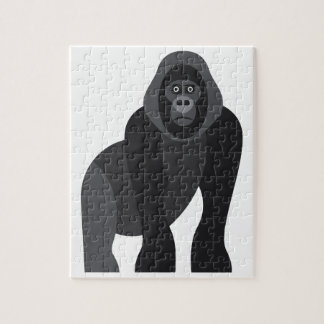 Cute monkey jigsaw puzzle