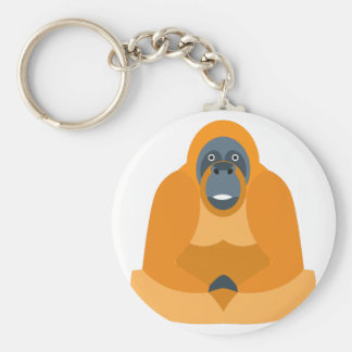 Cute monkey keychain