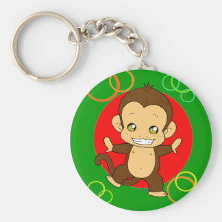 Cute Monkey Keychain