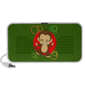 Cute Monkey Laptop Speaker