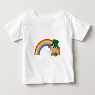 Cute Monkey Leprechaun Baby T-Shirt