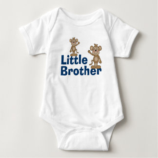 Cute Monkey Little Brother Baby Bodysuit