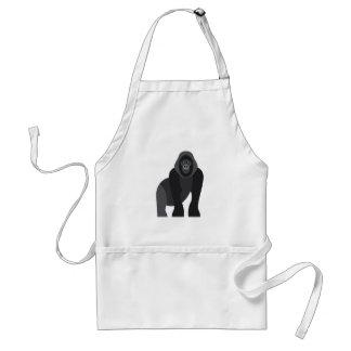 Cute monkey standard apron