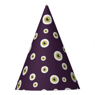 Cute monster eyes pattern party hat