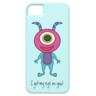 Cute Monster-Got my eye on you! iPhone 5 Cases